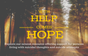 With Help Comes Hope